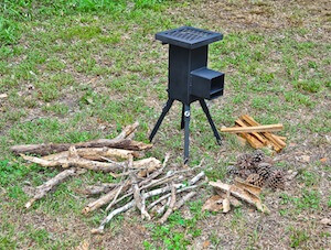 Setting up the Deadwood Stove