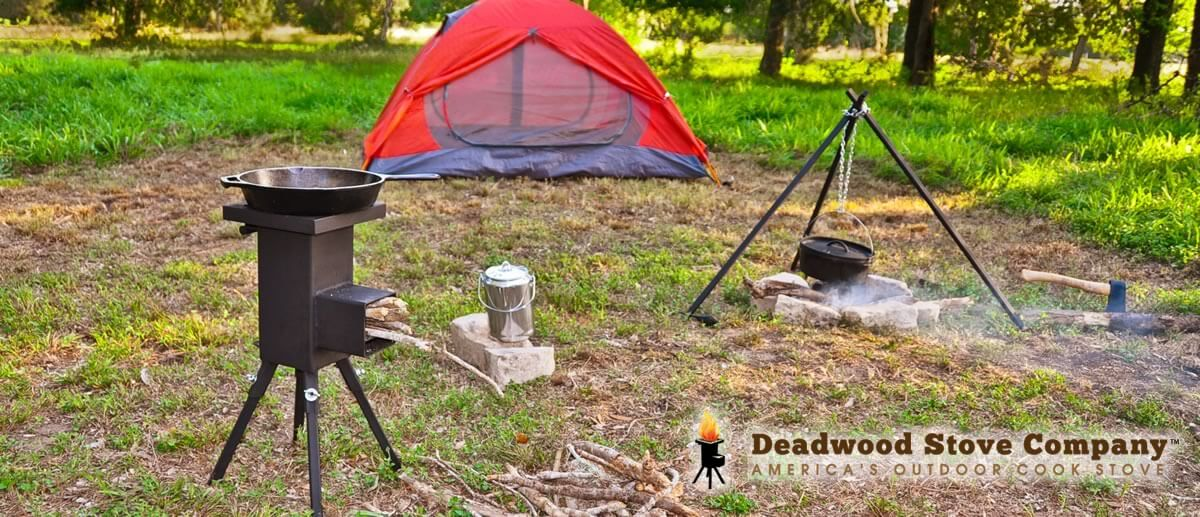 Deadwood Stove camping